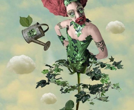 Marnie Scarlet Performs Poison Ivy