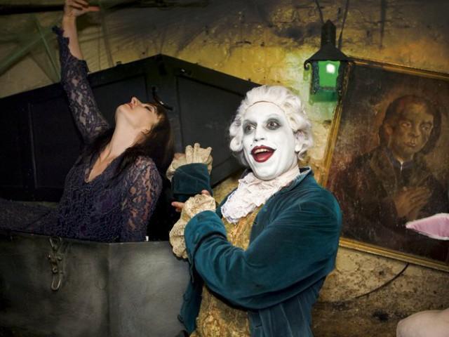 Haunted Cellar Tour